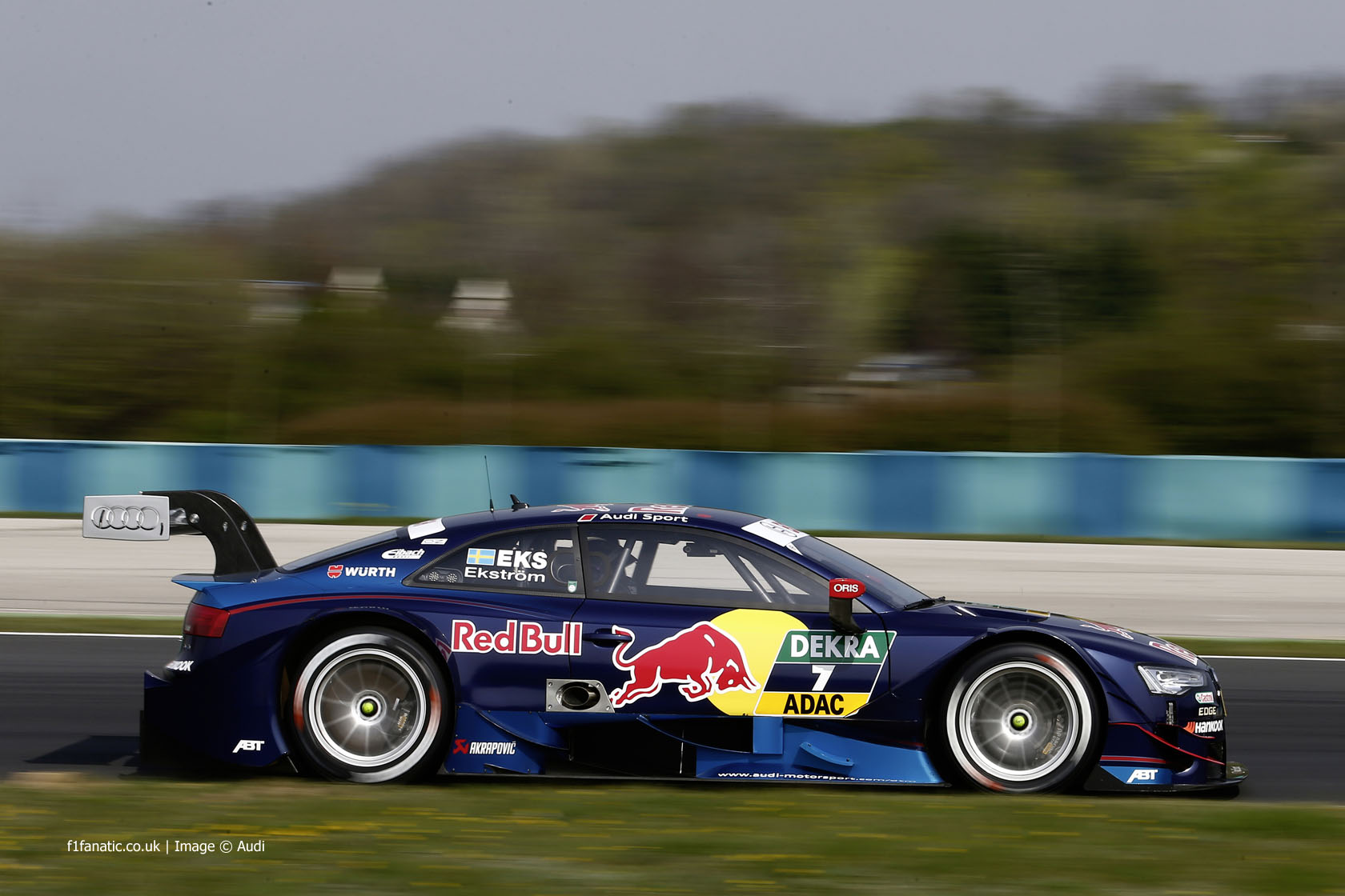 Mattias Ekstrom, Audi RS5 DTM, 2014