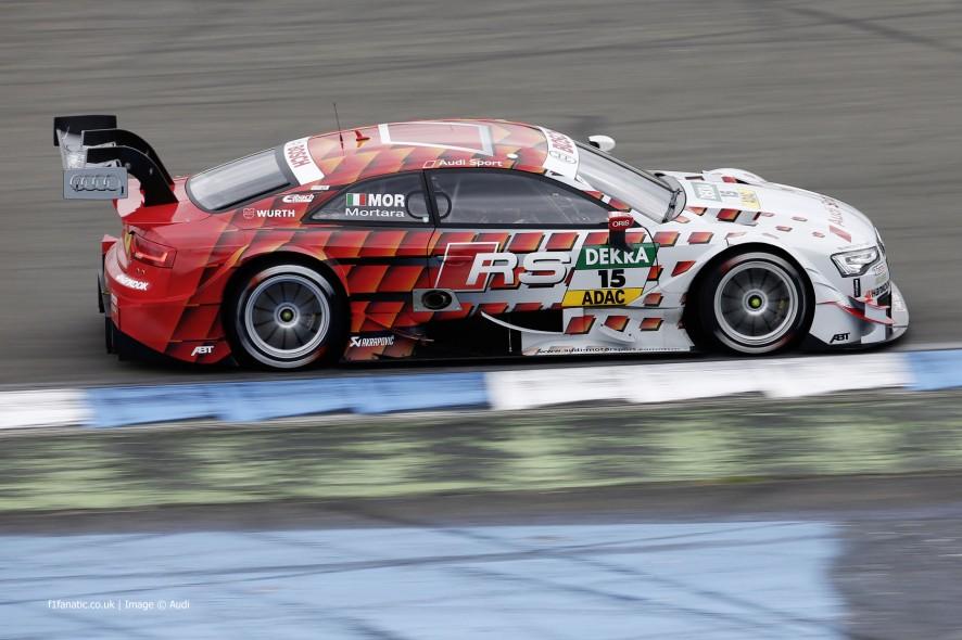 Edoardo Mortara, Audi RS5 DTM, 2014