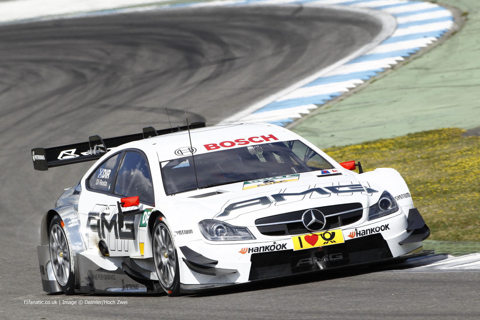 Paul di resta mercedes c coupe amg dtm 2014 f1 fanatic for Mercedes benz race