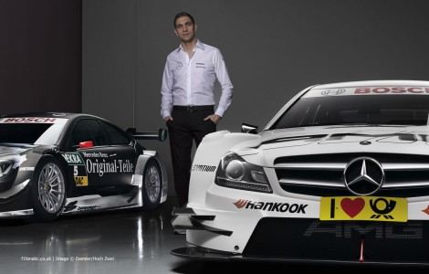 Vitaly Petrov, Mercedes C-Coupe AMG DTM, 2014
