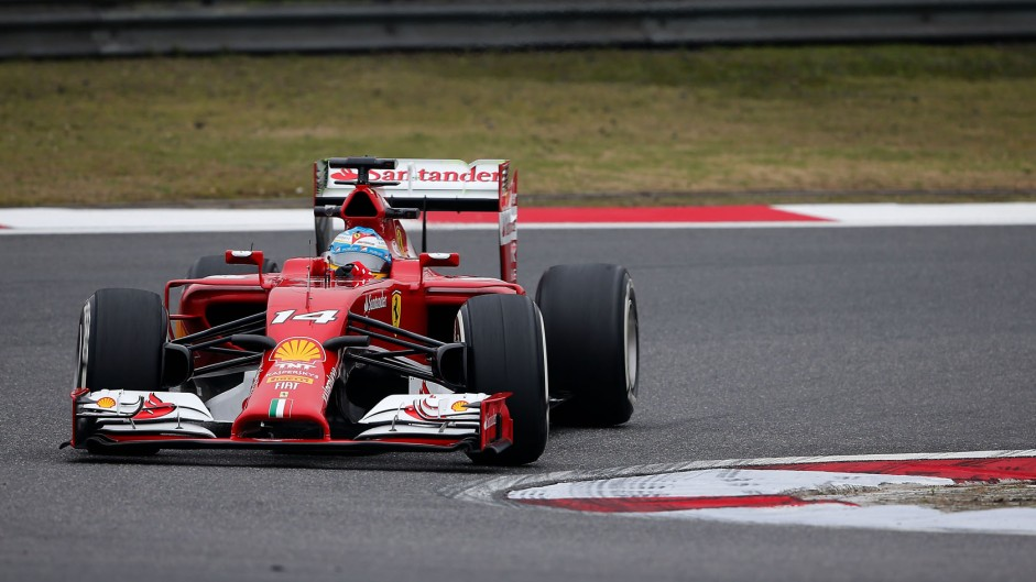 """Alonso """"very lucky to finish"""" after contact with Massa"""