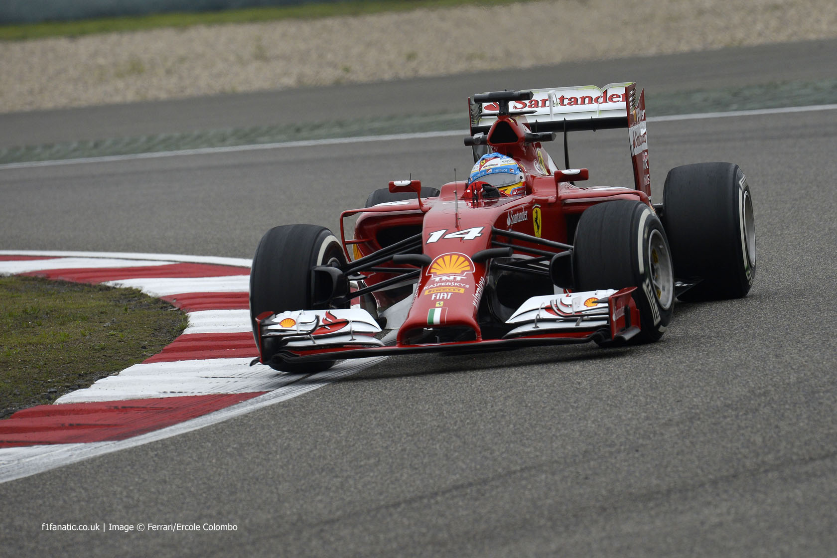 Fernando Alonso, Ferrari, Shanghai International Circuit, 2014
