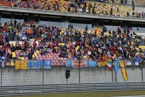 Ferrari fans, Shanghai International Circuit, 2014