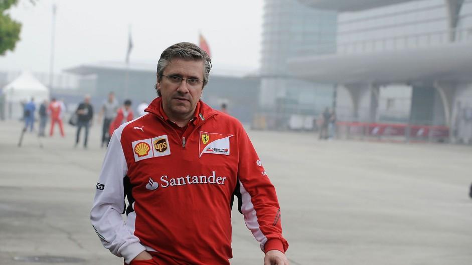 Pat Fry, Ferrari, Shanghai International Circuit, 2014