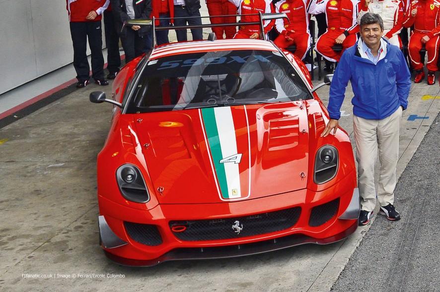 Marco Mattiacci, Ferrari