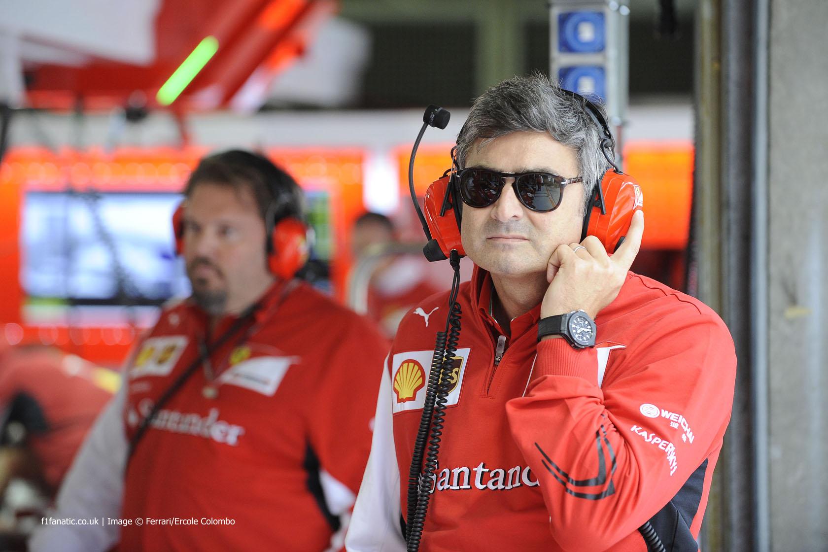 Marco Mattiacci, Ferrari, Shanghai International Circuit, 2014