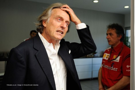 Luca di Montezemolo, Bahrain International Circuit, 2014