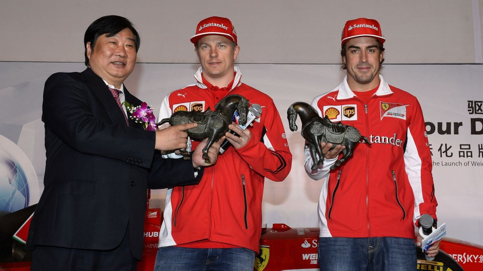 2014 Chinese Grand Prix build-up in pictures