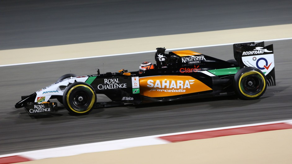 2014 Bahrain Grand Prix tyre strategies and pit stops