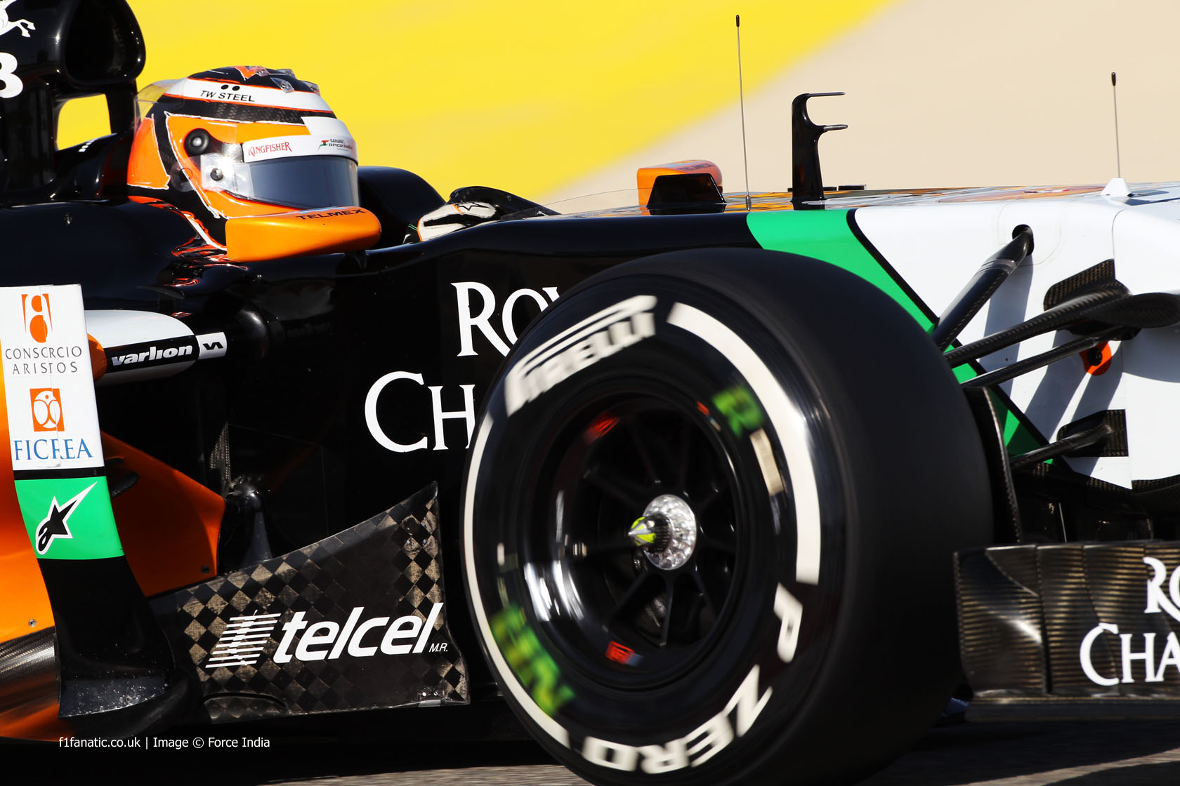 Sergio Perez, Force India, Bahrain International Circuit, 2014