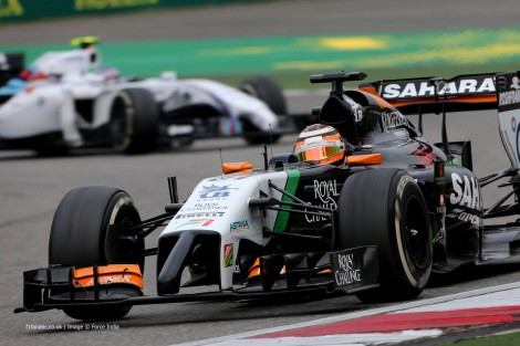 Nico Hulkenberg, Force India, Shanghai International Circuit, 2014