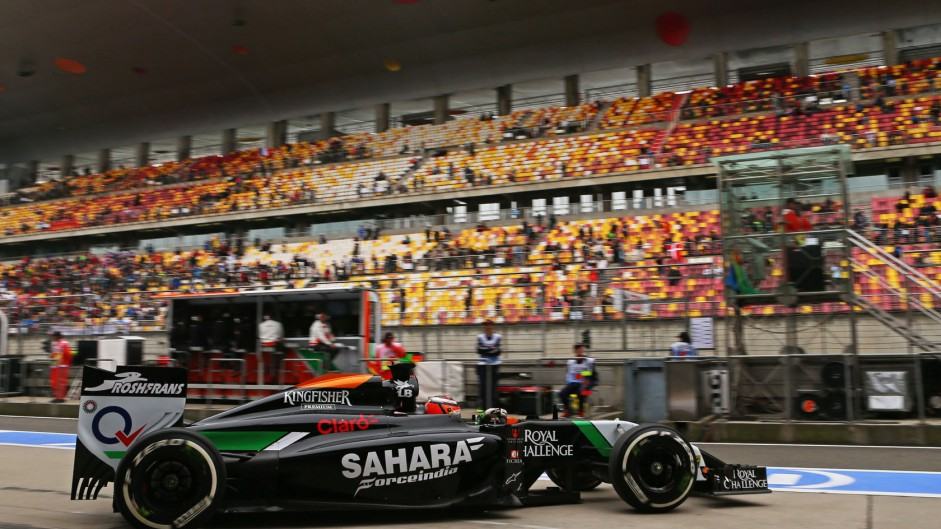 2014 Chinese Grand Prix practice in pictures