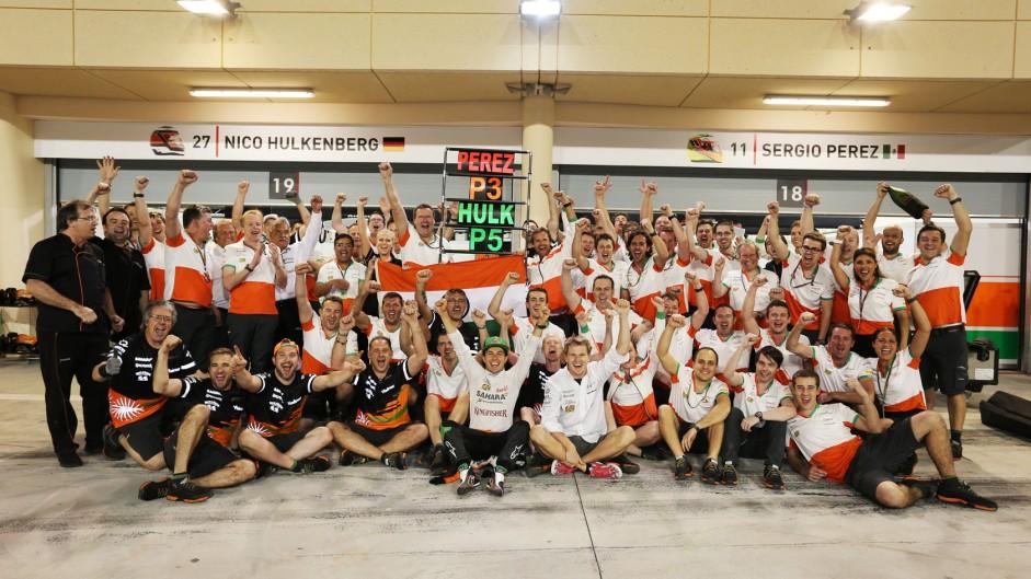 Motor Racing – Formula One World Championship – Bahrain Grand Prix – Race Day – Sakhir, Bahrain