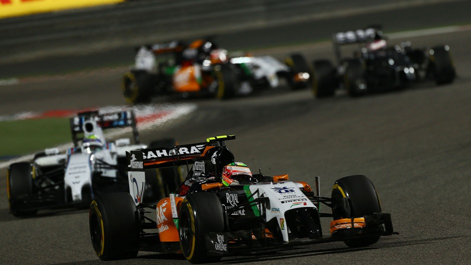 "Perez thrilled by ""hardest-fought podium ever"""