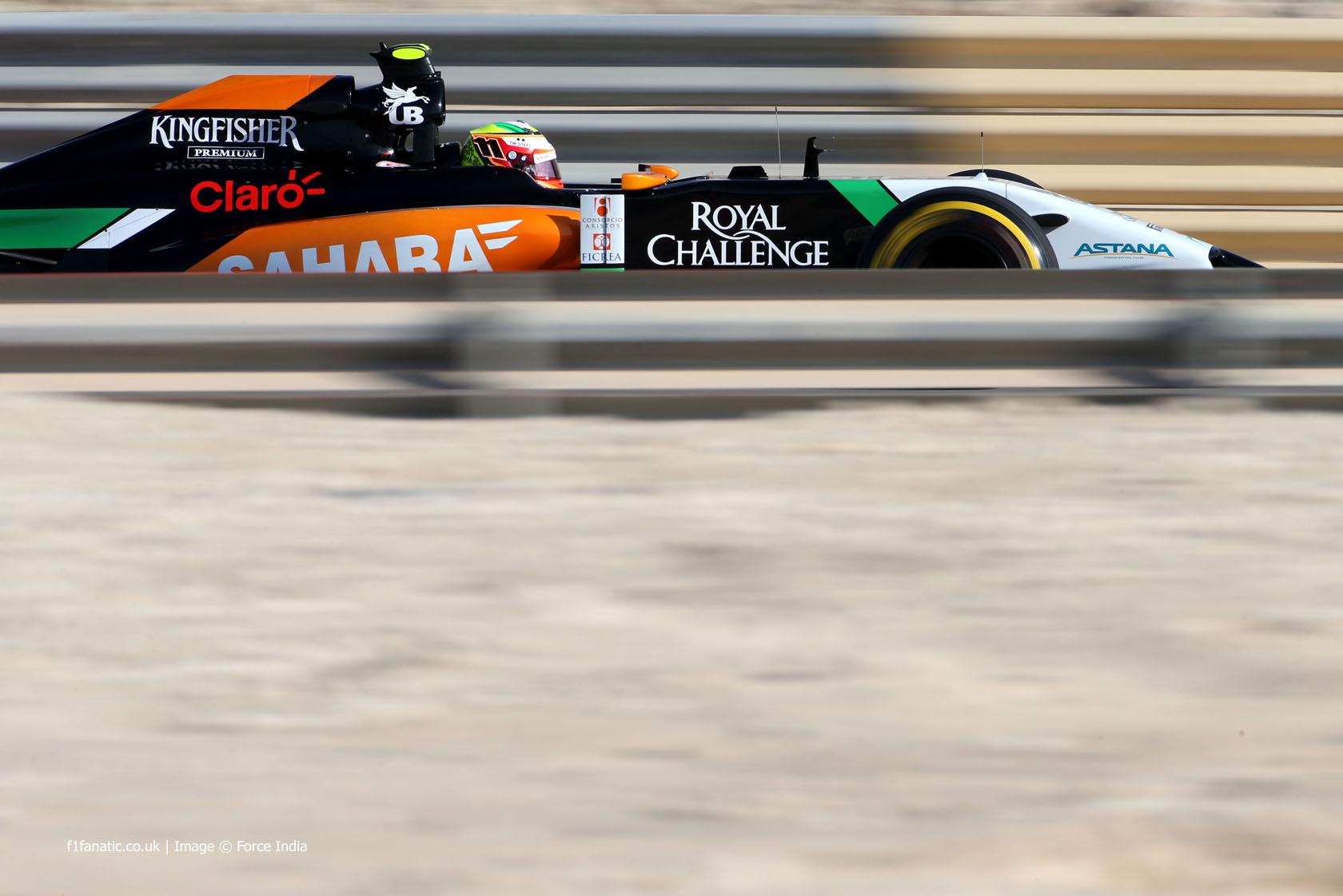 Motor Racing - Formula One World Championship - Bahrain Grand Prix - Qualifying Day - Sakhir, Bahrain
