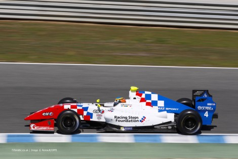 Oliver Rowland, Fortec, Jerez, 2014