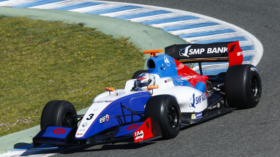 Sergey Sirotkin, Fortec, Jerez, 2014
