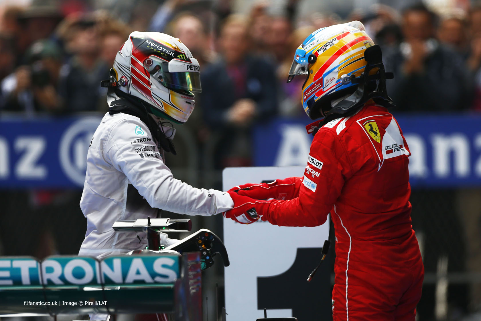 Lewis Hamilton, Fernando Alonso, Shanghai International Circuit, 2014