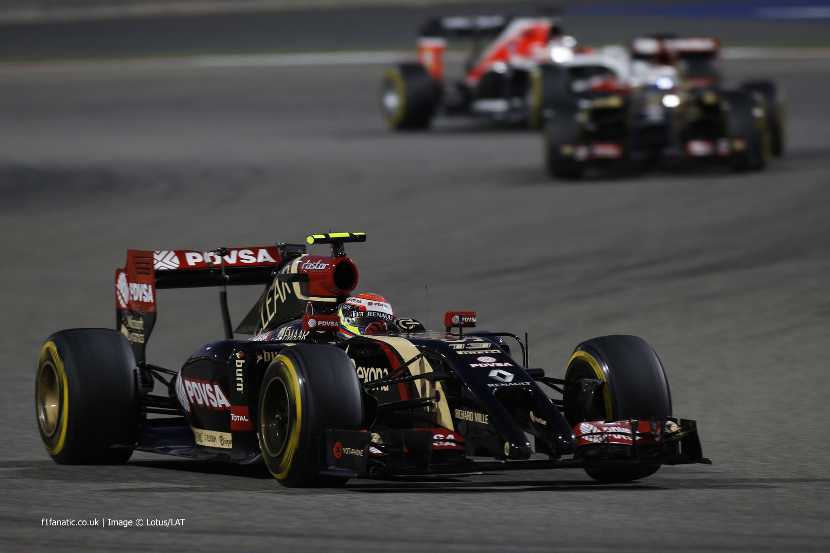 Pastor Maldonado, Lotus, Bahrain International Circuit, 2014