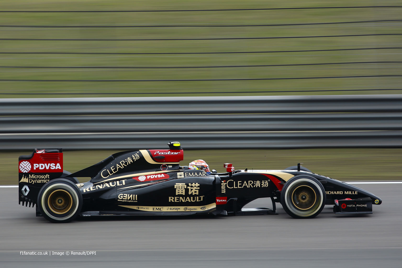 Pastor Maldonado, Lotus, Shanghai International Circuit, 2014
