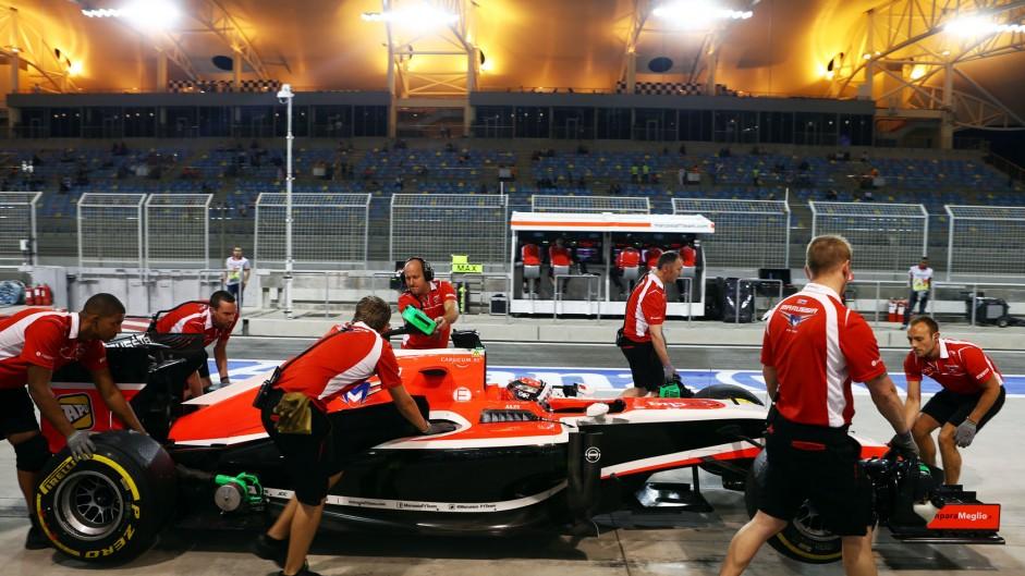Motor Racing - Formula One World Championship - Bahrain Grand Prix - Practice Day - Sakhir, Bahrain