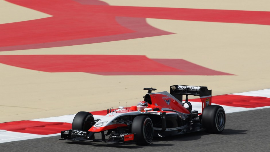 Motor Racing - Formula One World Championship - Bahrain Grand Prix - Practice Day - Sakhir, Bahrain