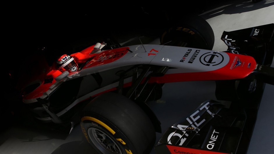 Jules Bianchi, Marussia, Bahrain International Circuit, 2014