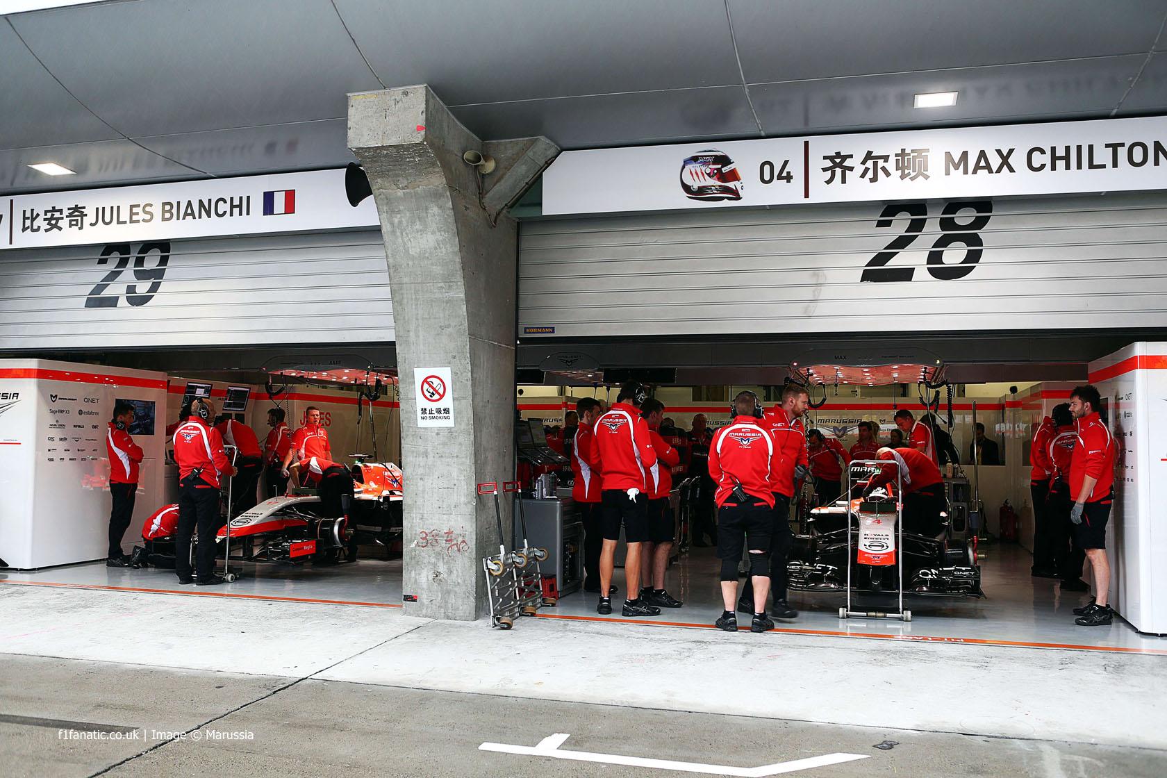 Jules Bianchi, Max Chilton, Marussia, Shanghai International Circuit, 2014