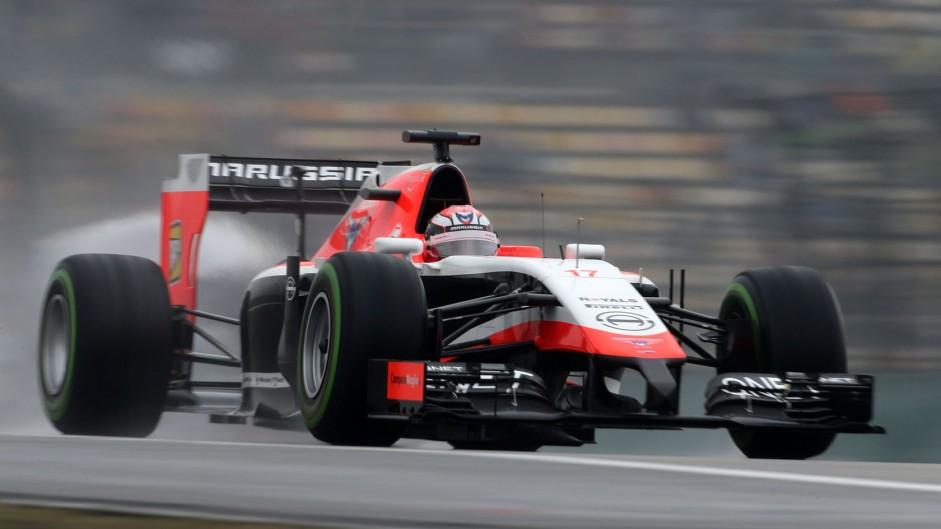 Jules Bianchi, Marussia, Shanghai International Circuit, 2014
