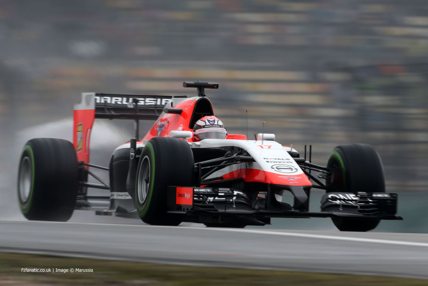 Jules Bianchi, Marussia, Shanghai International Circuit, 2014