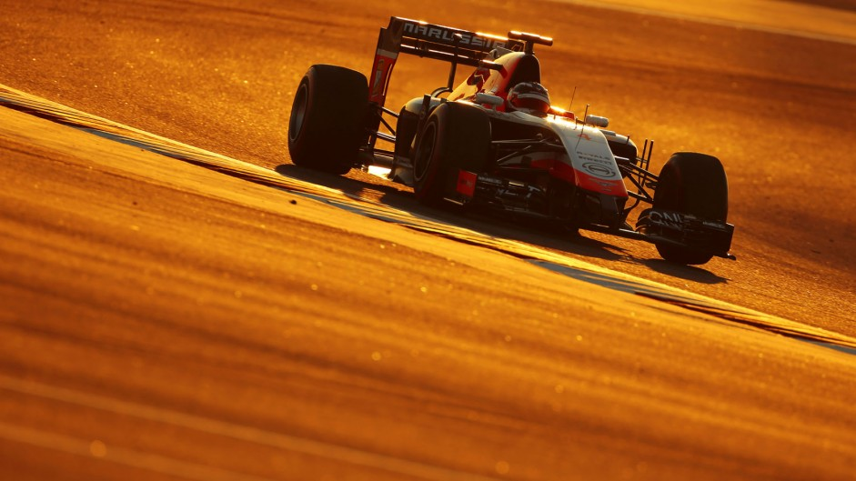 Motor Racing - Formula One Testing - Bahrain Test - Day 1 - Sakhir, Bahrain