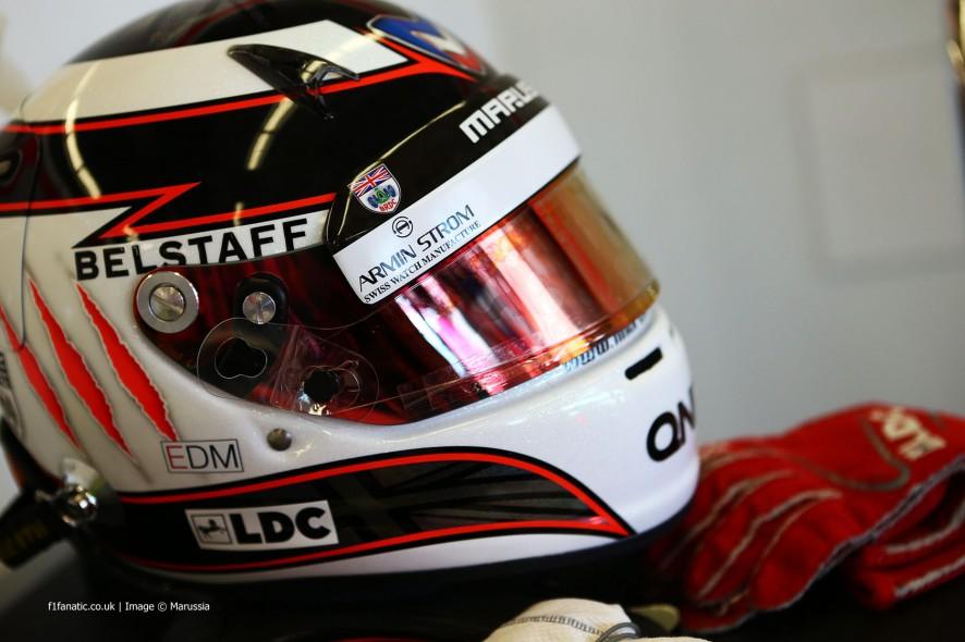 Max Chilton, Marussia, 2014