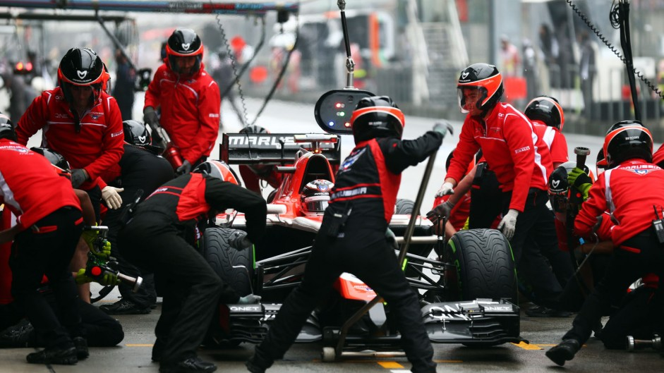 Max Chilton, Marussia, Shanghai International Circuit, 2014