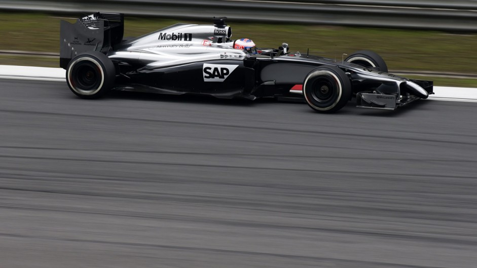 Jenson Button, McLaren, Shanghai International Circuit, 2014