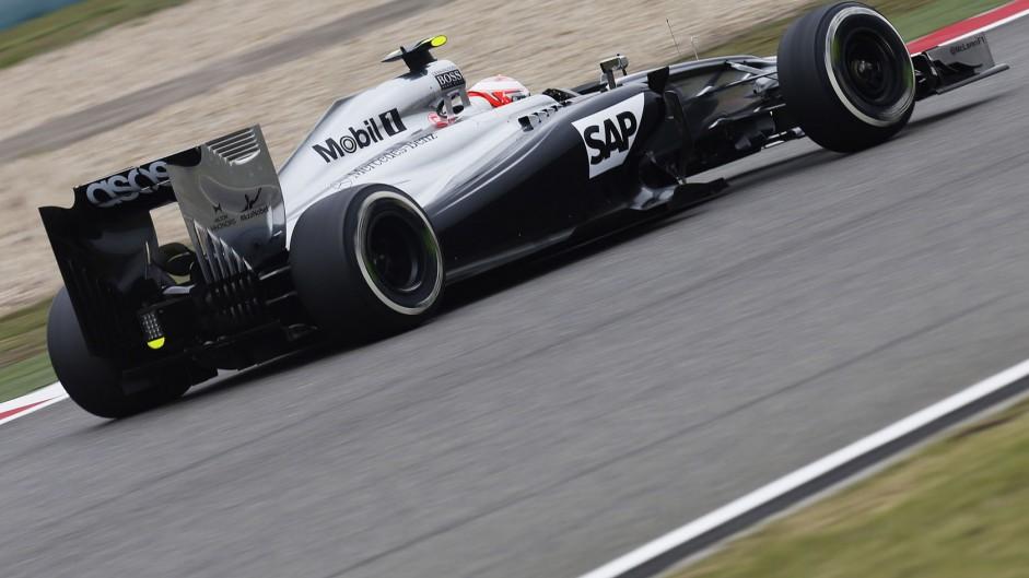 Kevin Magnussen, McLaren, Shanghai International Circuit, 2014