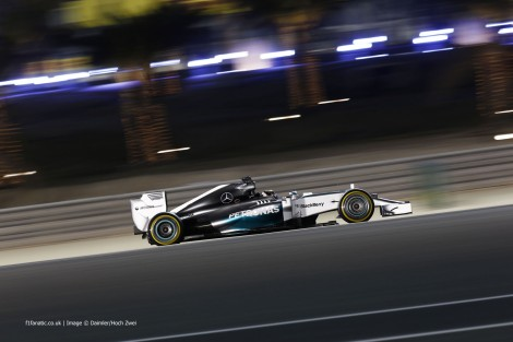 Lewis Hamilton, Mercedes, Bahrain International Circuit, 2014