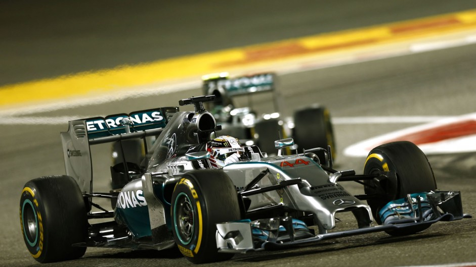 Mercedes gives F1 a lesson in motorsport