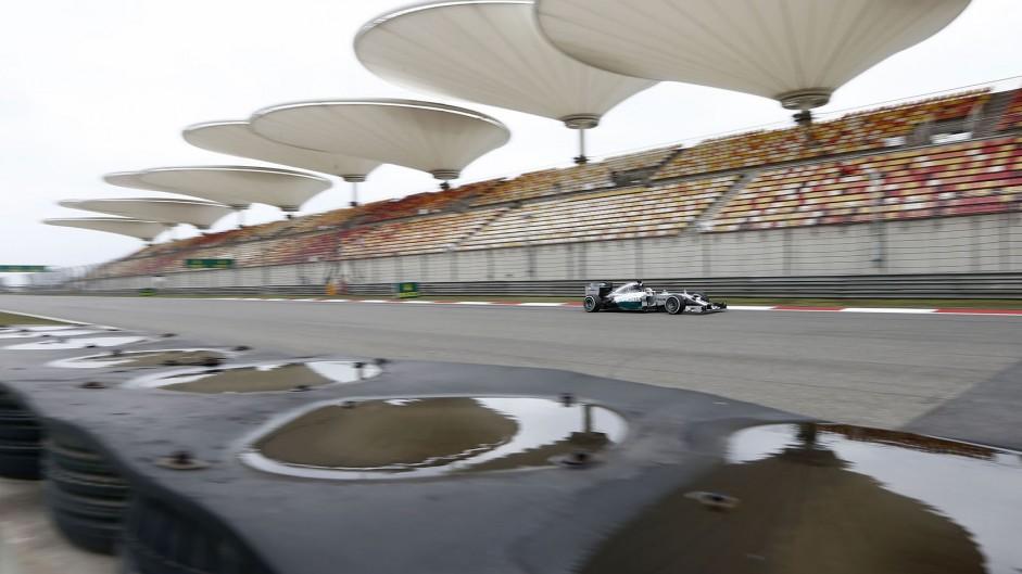 2014 Chinese Grand Prix grid