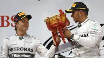Lewis Hamilton, Nico Rosberg, Mercedes, Shanghai International Circuit, 2014
