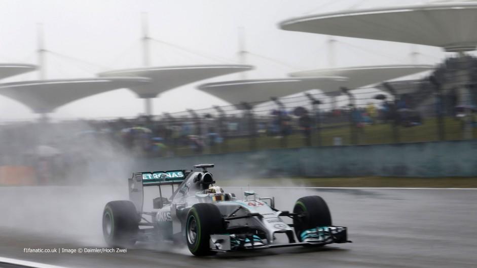 Lewis Hamilton, Mercedes, Shanghai International Circuit, 2014