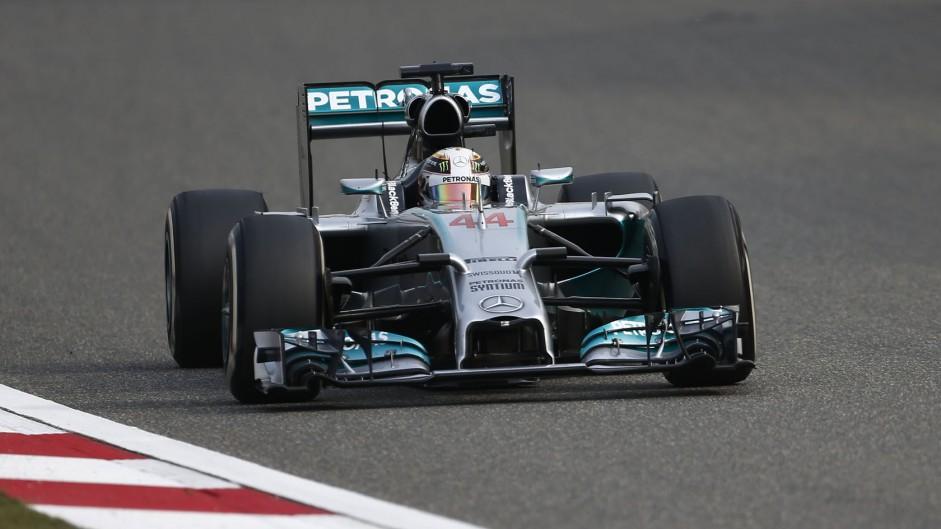 2014 Chinese Grand Prix result