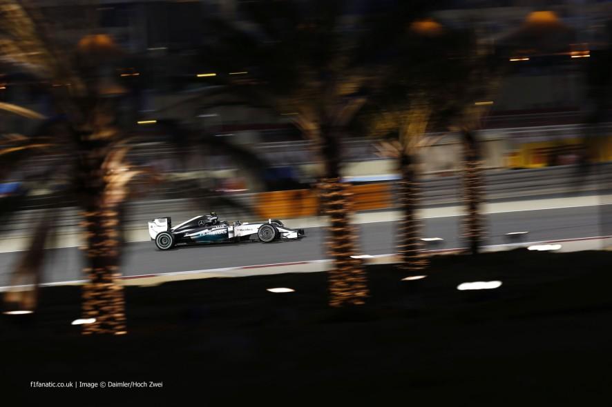 Nico Rosberg, Mercedes, Bahrain International Circuit, 2014