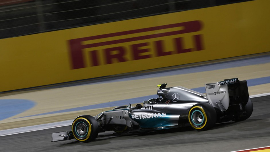 2014 Bahrain Grand Prix grid