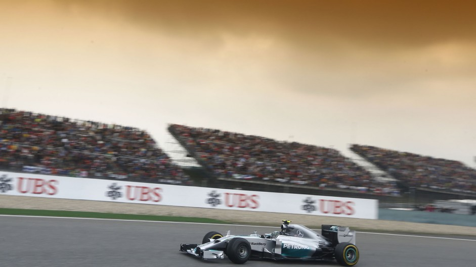 2014 Chinese Grand Prix lap times and fastest laps