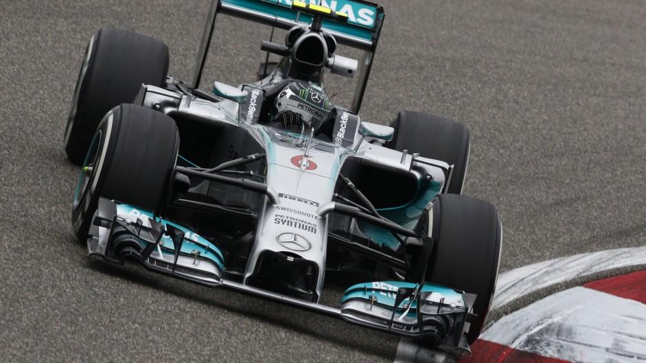 Nico Rosberg, Mercedes, Shanghai International Circuit, 2014