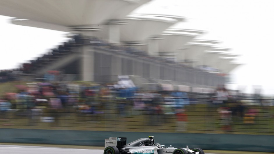 Rosberg didn't realise his last lap was quicker