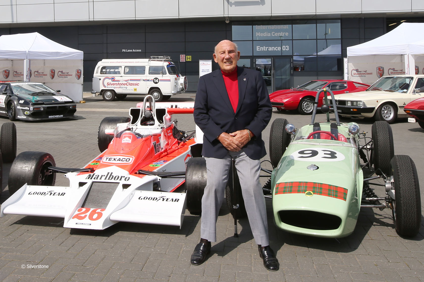 Stirling Moss, Silverstone Classic
