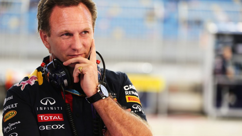 Christian Horner, Red Bull, Bahrain, 2014