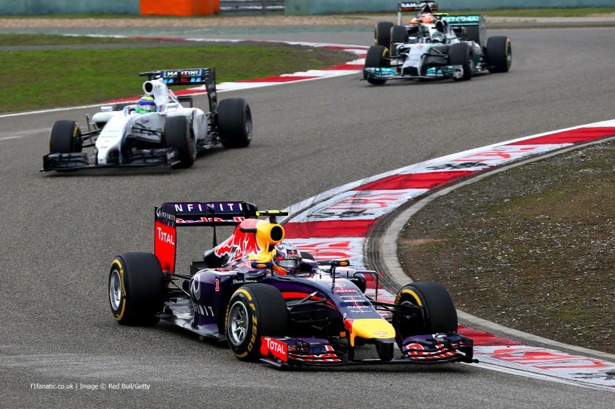 Daniel Ricciardo, Red Bull, Shanghai International Circuit, 2014