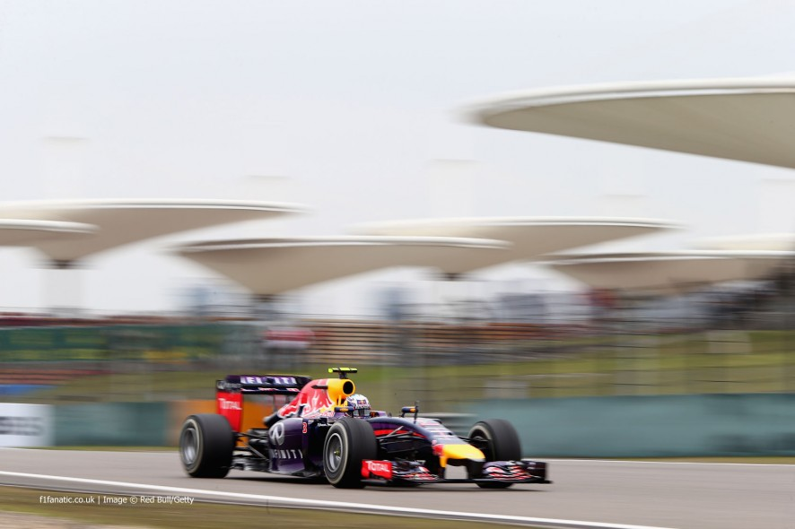 Daniel Ricciardo, Red Bull, Shanghai International Circuit, 2014